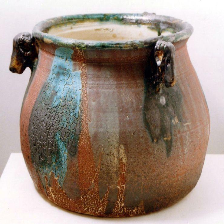 Kosfejes váza - artGaléria
