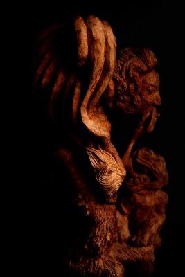 Téglás István - Vörös oroszlán oldalról2 - artGaléria