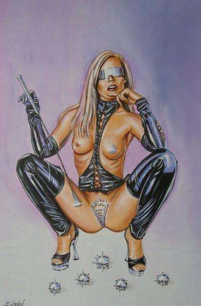 Nagy Edward - Cyber girl - artGaléria