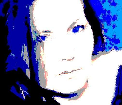 Lantos Erzsébet - kék szavakkal - artGaléria