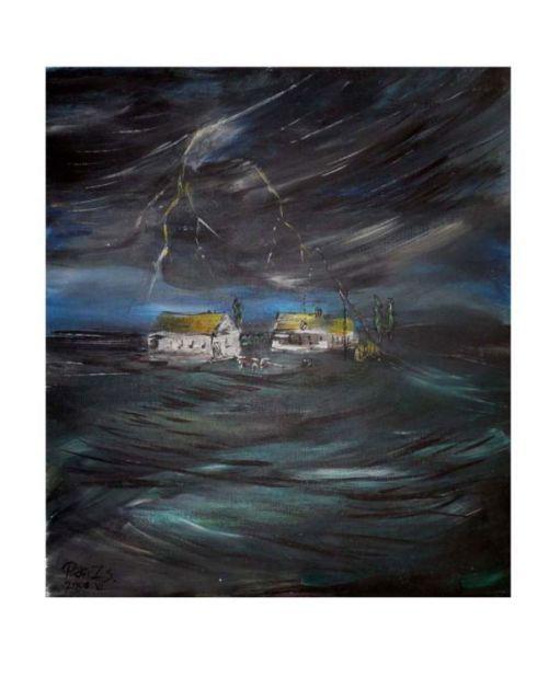 Pintér Zsolt - Tanya viharban - artGaléria