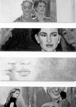 Johanna note 1962 Bleistift